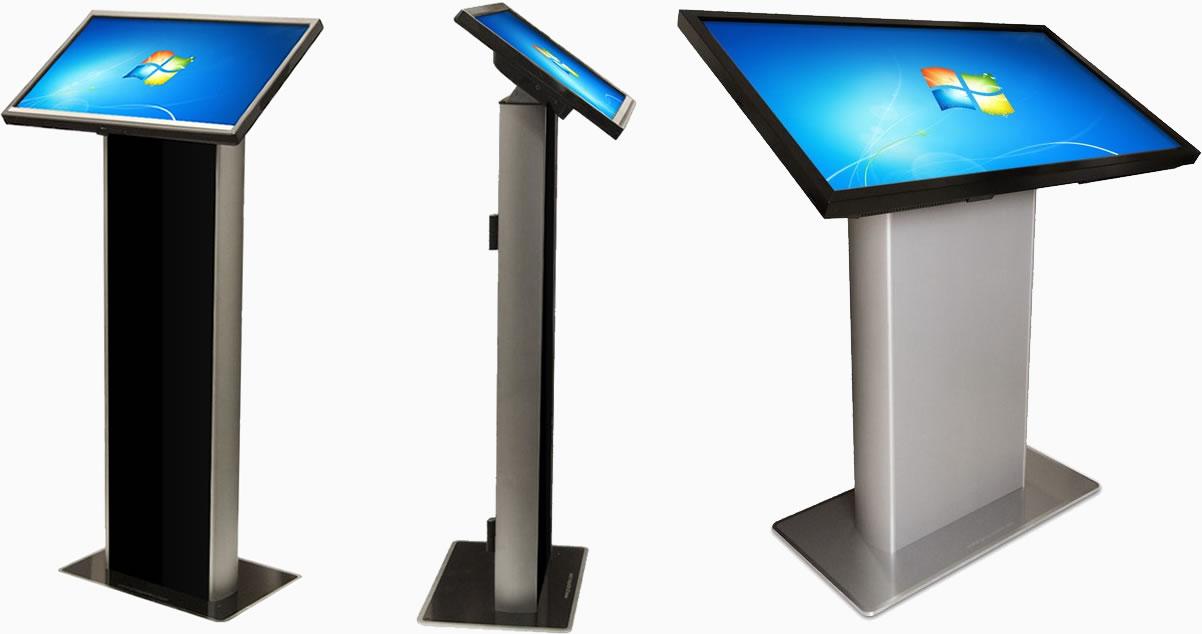I com multimedia totem multimediali touchscreen player - Tavolo multimediale ...